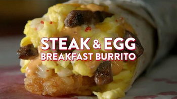 Jack in the Box Steak & Egg Breakfast Burrito TV Spot, 'Lectura' [Spanish] - Thumbnail 7