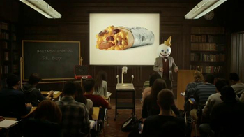 Jack in the Box Steak & Egg Breakfast Burrito TV Spot, 'Lectura' [Spanish] - Thumbnail 2