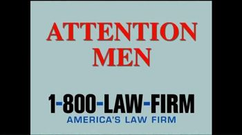 1-800-LAW-FIRM TV Spot, 'Melanoma Warning'