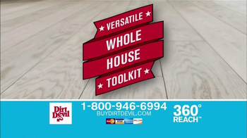 Dirt Devil 360° Reach TV Spot, 'Vac & Dust' - Thumbnail 6