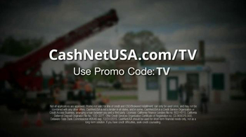 CashNetUSA TV Spot, 'Man vs. Flat Tires' - Thumbnail 8