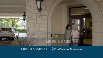 A Place For Mom TV Spot, 'Big Moments' Featuring Joan Lunden