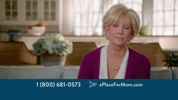 A Place For Mom TV Spot, 'Big Moments' Featuring Joan Lunden - Thumbnail 8