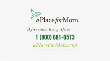 A Place For Mom TV Spot, 'Big Moments' Featuring Joan Lunden - Thumbnail 9