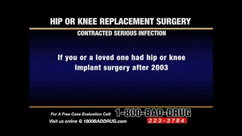 Pulaski & Middleman TV Spot, 'Hip or Knee Replacement' - Thumbnail 2