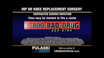 Pulaski & Middleman TV Spot, 'Hip or Knee Replacement' - Thumbnail 5