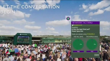 Wimbledon TV Spot, \'Join the Conversation With Wimbledon Online\'