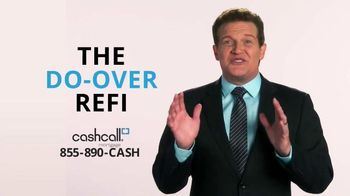 CashCall Mortgage Do-Over Refi TV Spot, 'Lower Rate'