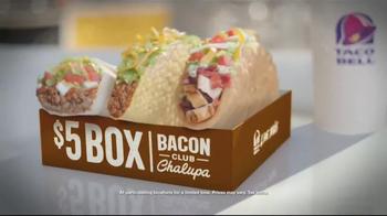 Taco Bell $5 Box TV Spot, 'Accountant'