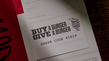 TGI Friday's TV Spot, 'Buy a Burger, Give a Burger' - Thumbnail 5