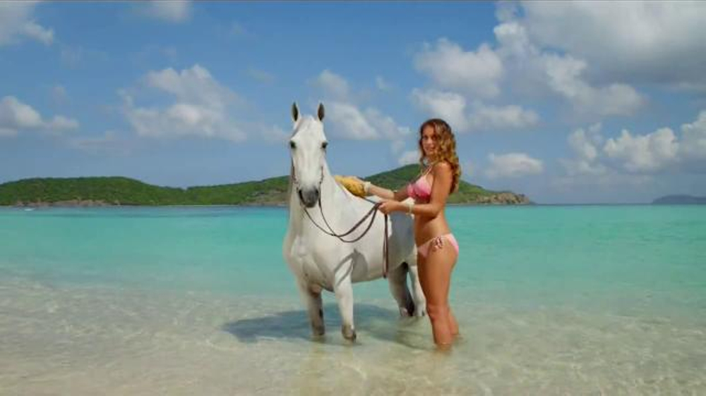 DIRECTV TV Commercial, \'Hannah Davis and Her Horse: Bath\' Featuring ...