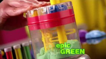 Cra-Z-Sand TV Spot, 'You'll LOVE the Cra-Z-Sand Magic Sand Machine!' - Thumbnail 4