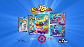 Cra-Z-Sand TV Spot, 'You'll LOVE the Cra-Z-Sand Magic Sand Machine!' - Thumbnail 8