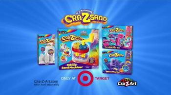 Cra-Z-Sand TV Spot, 'You'll LOVE the Cra-Z-Sand Magic Sand Machine!' - Thumbnail 9