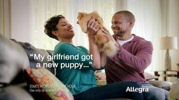 Allegra Gel Caps TV Spot, 'New Puppy' - 2108 commercial airings