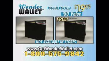 Wonder Wallet TV Spot, 'Twice'
