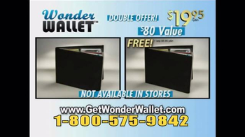 Wonder Wallet TV Spot, \'Twice\'