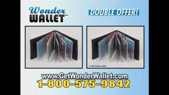 Wonder Wallet TV Spot, 'Twice' - Thumbnail 8
