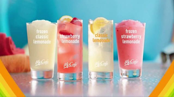 McDonald's McCafe Frozen Lemonades TV Spot, 'Lemonades' Song by Sophie - Thumbnail 6