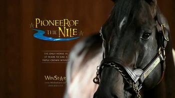 Winstar Farm, LLC TV Spot, 'First Triple Crown Winner in 37 Years'