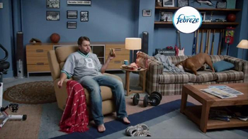 Febreze Fabric Refresher TV Spot, 'Nose Blind: Man Cave' - Thumbnail 1