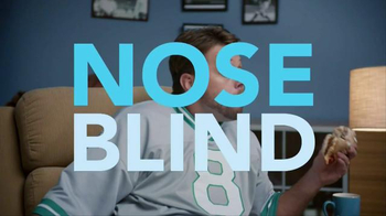 Febreze Fabric Refresher TV Spot, 'Nose Blind: Man Cave' - Thumbnail 3
