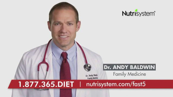 Nutrisystem Fast 5+ TV Spot, 'Dr. Andy Baldwin'