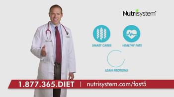 Nutrisystem Fast 5+ TV Spot, 'Dr. Andy Baldwin' - Thumbnail 3