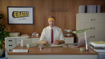 Ebates TV Spot, 'Chief Check Writer' - Thumbnail 1