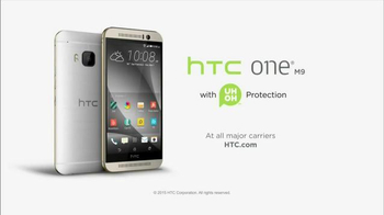 HTC One M9 TV Spot, 'Life Happens: Uh Oh Protection' - Thumbnail 7