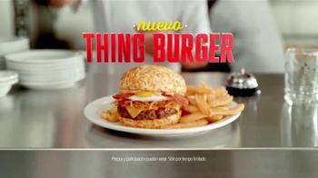 Denny's Thing Burger TV Spot, 'Fantastic Four' [Spanish] - Thumbnail 5