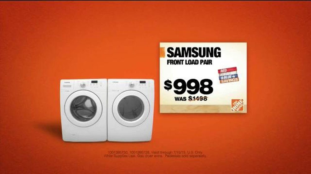 The Home Depot Fourth of July Event TV Commercial, 'Event Savings' -  iSpot.tv