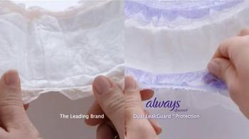 Always Discreet Underwear TV Spot, 'Move & Groove' - Thumbnail 6