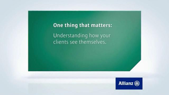 Allianz Corporation TV Spot, 'One Thing That Matters' - Thumbnail 1