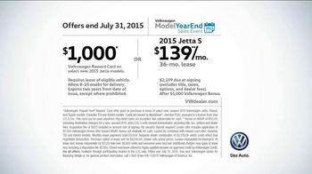 2015 Volkswagen Jetta TV Spot, 'Model Year End Event: What About a Deal' - Thumbnail 6