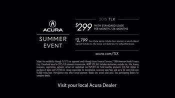 Acura It's That Kind of Summer Event TV Spot, 'Thrills Come Standard' - Thumbnail 6