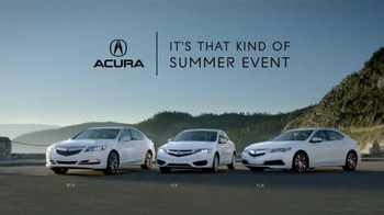 Acura It's That Kind of Summer Event TV Spot, 'Thrills Come Standard' - Thumbnail 5