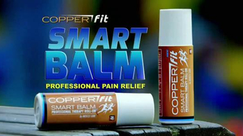 Copper Fit Smart Balm TV Spot, 'Stop the Pain Now'