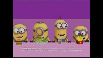 McDonald's Minion Mania TV Spot, 'Minions: Family at the Drive-Thru' - Thumbnail 4