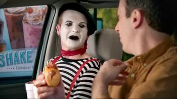 Sonic Drive-In Croissant Dogs TV Spot, 'Old French Mime Trick' - 2418 commercial airings