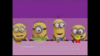 McDonald's Minion Mania TV Spot, 'Minions: Friends at the Drive-Thru'
