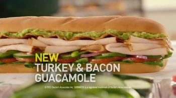 Subway Turkey & Bacon Guacamole TV Spot, 'I'll Have What He's Having' - Thumbnail 7