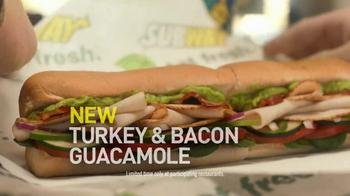 Subway Turkey & Bacon Guacamole TV Spot, 'I'll Have What He's Having' - Thumbnail 6