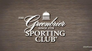 The Greenbrier Sporting Club TV Spot, 'Four Legends' Feat. Arnold Palmer - Thumbnail 1