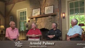 The Greenbrier Sporting Club TV Spot, 'Four Legends' Feat. Arnold Palmer - Thumbnail 5