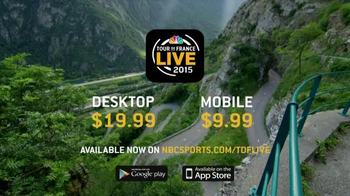 2015 Tour de France Live App TV Spot - Thumbnail 9