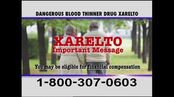 Pulaski & Middleman TV Spot, 'Xarelto Warning' - Thumbnail 3