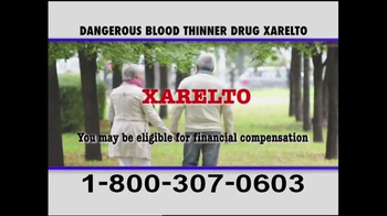 Pulaski & Middleman TV Spot, 'Xarelto Warning' - Thumbnail 4