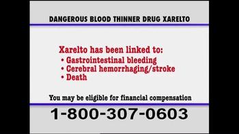Pulaski & Middleman TV Spot, 'Xarelto Warning' - Thumbnail 5