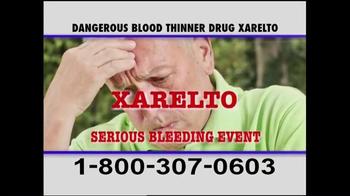 Pulaski & Middleman TV Spot, 'Xarelto Warning' - Thumbnail 7